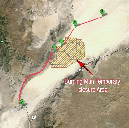 Burningman Zone